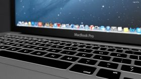 MacBook Pro 010 Apple, Klawiatura