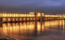 Most Khaju Bridge 001 Isfahan, Iran