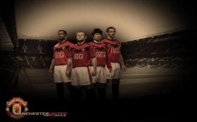 Manchester United 1280x800 001 team