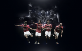 Manchester United 1280x800 002 team