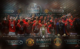 Manchester United 1280x800 013 team
