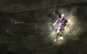 Manchester United 1680x1050 011 Scholes