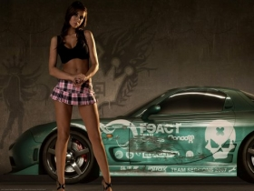 Girls with Cars 025