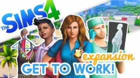 The Sims 4 Get to Work 009 Expansion