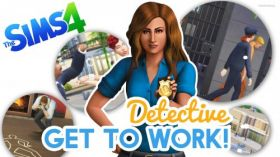 The Sims 4 Get to Work 010 Detektyw