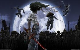 wallpaper afro samurai 03 2560x1600