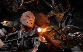 wallpaper aliens vs predator 02 2560x1600
