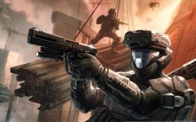 wallpaper halo 3 odst 03 2560x1600