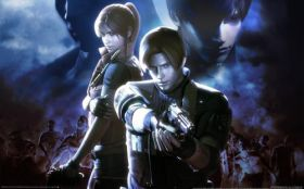 wallpaper resident evil the darkside chronicles 01 2560x1600