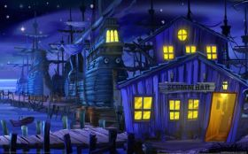 wallpaper the secret of monkey island special edition 01 2560x1600