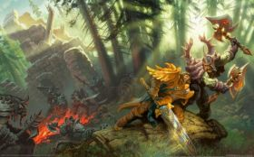 wallpaper world of warcraft trading card game 14 2560x1600