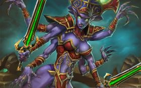 wallpaper world of warcraft trading card game 18 2560x1600