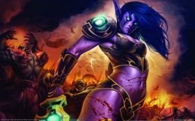 wallpaper world of warcraft trading card game 27 2560x1600