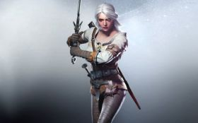 Wiedzmin 3 Dziki Gon - The Witcher 3 Wild Hunt 008 Ciri