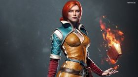 Wiedzmin 3 Dziki Gon - The Witcher 3 Wild Hunt 016 Triss Merigold