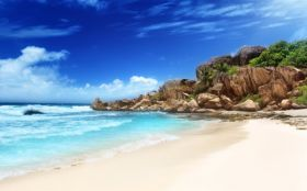 Lato 5120x3200 017 Grand Anse Beach, La Digue, Seszele