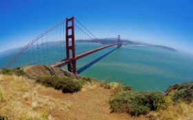Golden Gate Bridge San Fran 1440x900