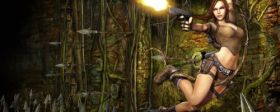 Gra Dual Screen 2560x1024 Tomb Raider 005
