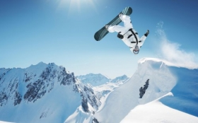 Sporty Zimowe, Winter Sports, Snowboard 1920x1200 001