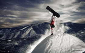 Sporty Zimowe, Winter Sports, Snowboard 1920x1200 002