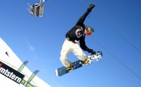 Sporty Zimowe, Winter Sports, Snowboard 1920x1200 012