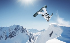 Sporty Zimowe, Winter Sports, Snowboard 1920x1200 015