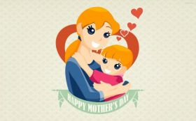 Dzien Matki 036 Vector, Happy Mothers Day