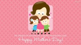 Dzien Matki 039 Vector, Happy Mothers Day