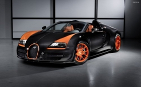2013 Bugatti Veyron 16 4 Grand Sport Vitesse World Speed Record 001