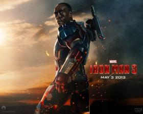 Iron Man 3 014 Pulkownik James Rhodes, War Machine