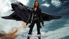 Captain America - The Winter Soldier 026 Scarlett Johansson, Czarna Wdowa