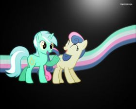 My Little Pony Przyjazn To Magia 014 Lyra i Bon Bon