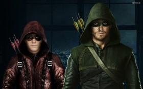 Arrow 035 Roy Harper i Oliver Queen