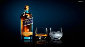 Whisky Johnnie Walker 008 Blue Label, Szklanki