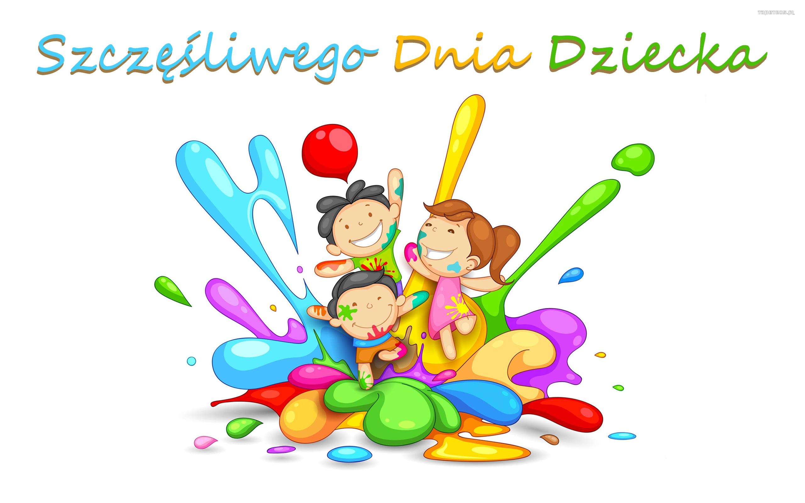 Dzien Dziecka 015 Szczesliwego Dnia Dziecka - Tapety na pulpit