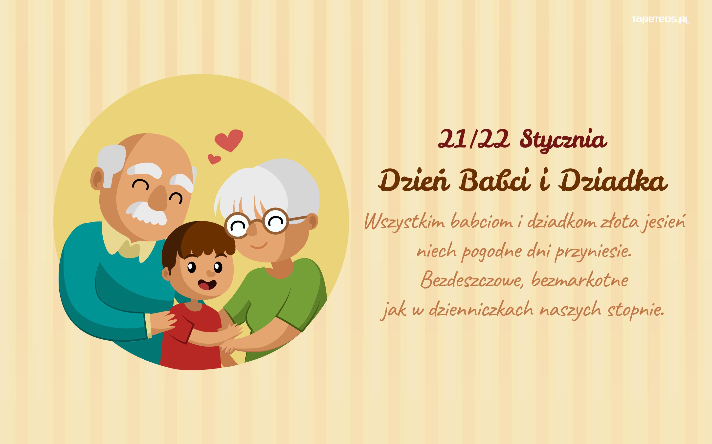 Tapety Okolicznościowe Dzień Babci I Dziadka Tapety Na