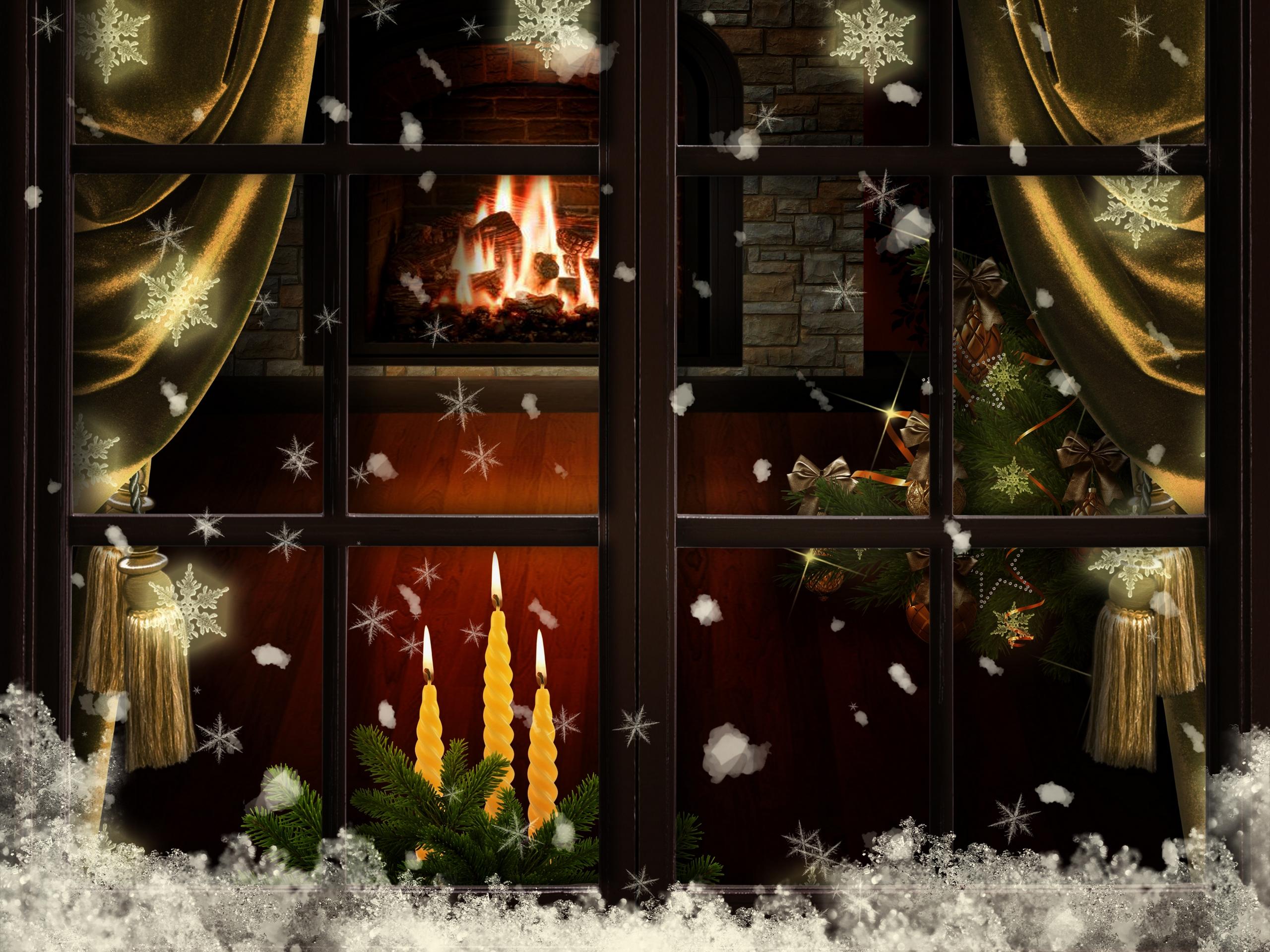 Новогодние врата загрузить
