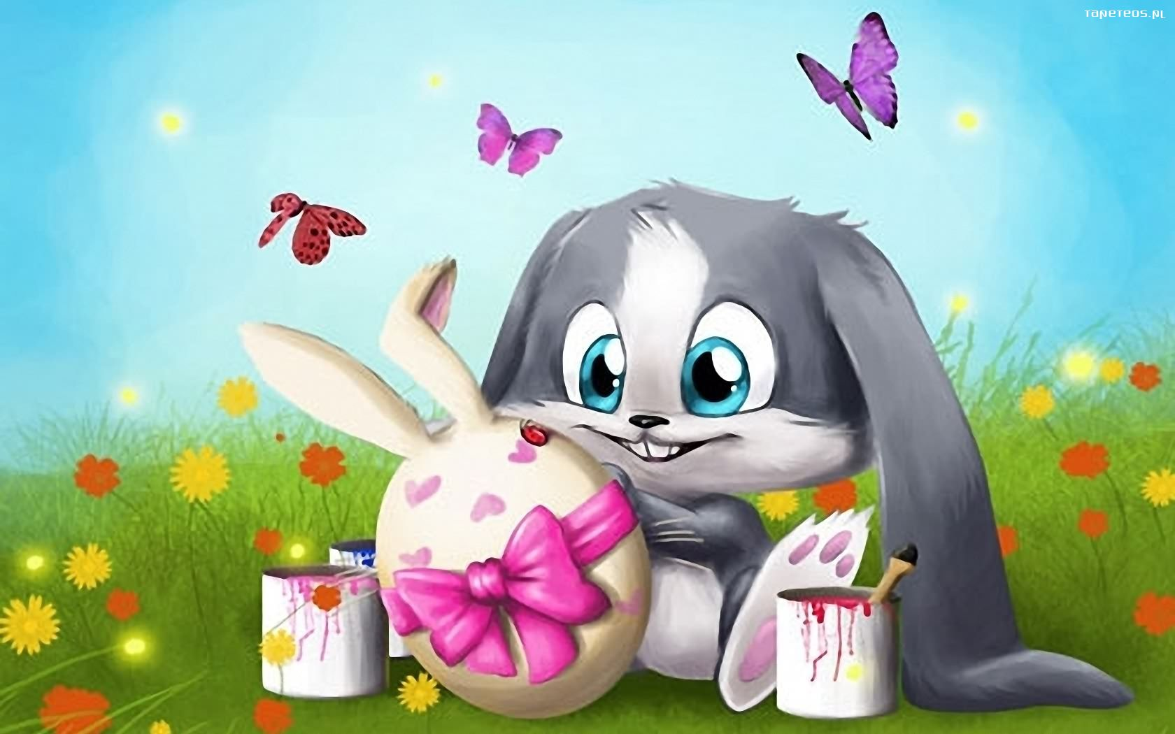 пасхальный кролик прикольные картинки что