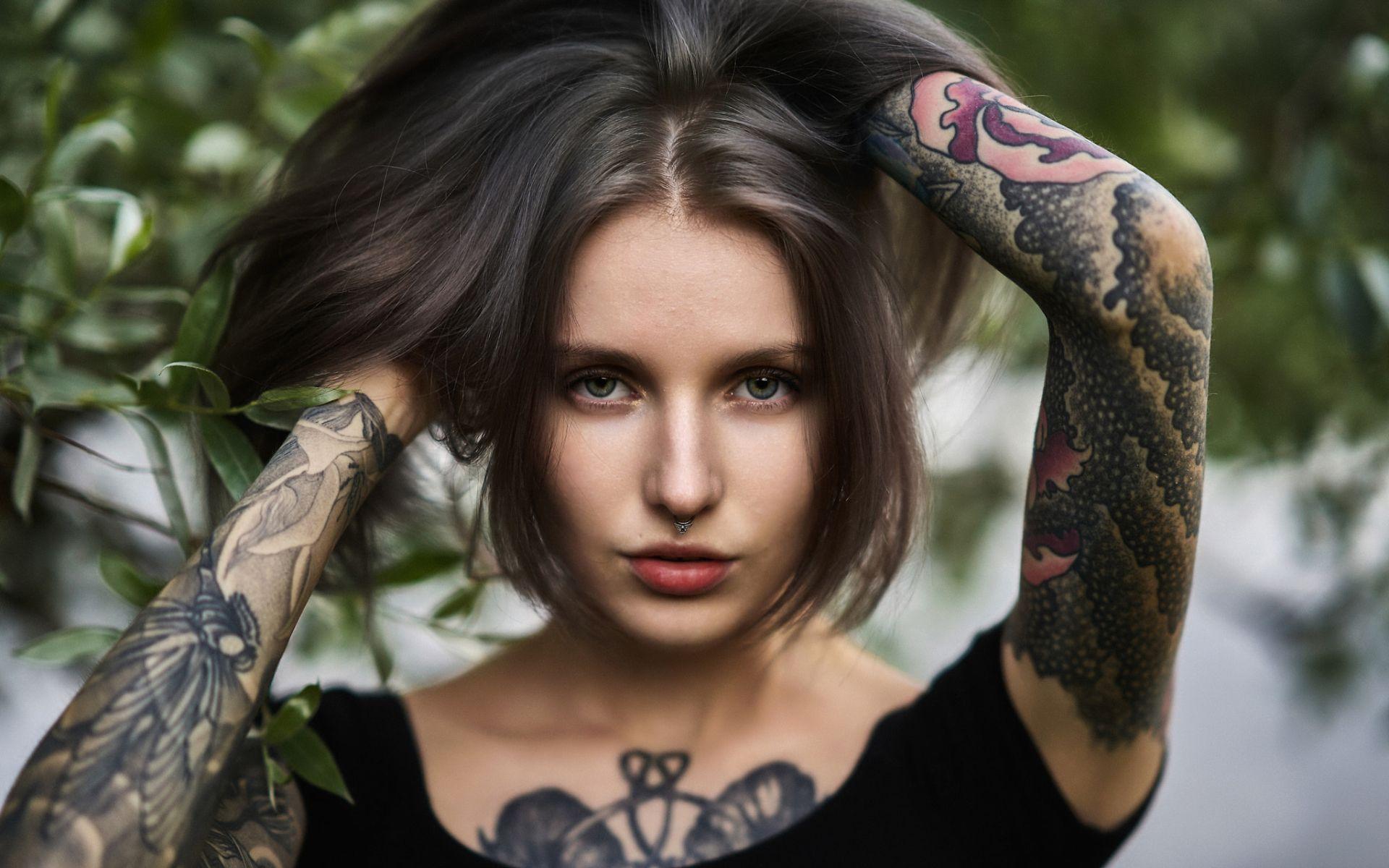 Tatuaze 081 Kobieta Tapety Na Pulpit