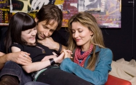 Californication 34 Becca, Hank Moody, Karen